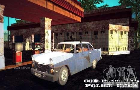 Газ 13 police Cuba для GTA San Andreas