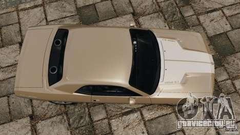 Dodge Challenger Concept 2006 для GTA 4 вид справа