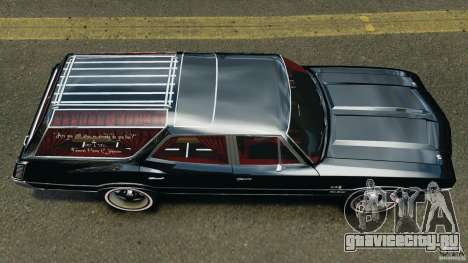 Oldsmobile Vista Cruiser 1972 v1.0 для GTA 4 вид справа