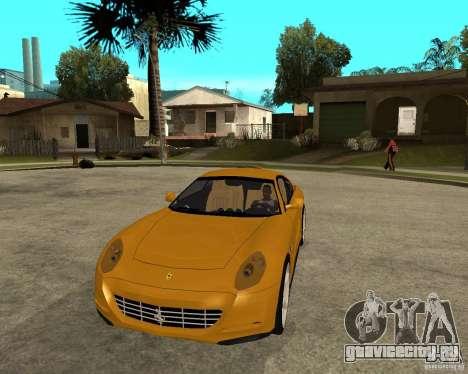 Ferrari 612 Scaglietti для GTA San Andreas вид сзади