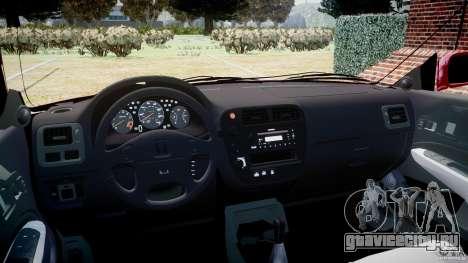 Honda Civic Vti для GTA 4 вид справа