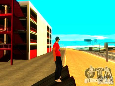 Скин репортера для GTA San Andreas четвёртый скриншот