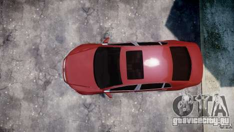 Volkswagen Pheaton W12 для GTA 4 вид сзади