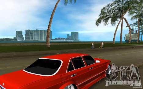 Mercedes-Benz W126 Wild Stile Edition для GTA Vice City вид справа
