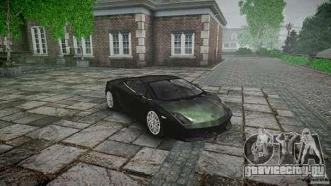 Lamborghini Gallardo LP560-4 для GTA 4 вид сзади