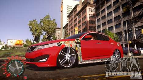 Kia Optima Dub для GTA 4