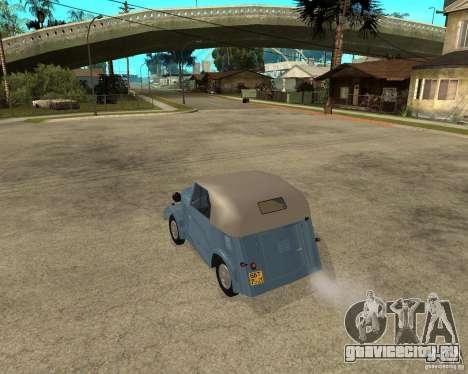 СМЗ С-3А для GTA San Andreas вид слева