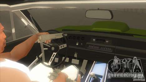 Dodge Charger RT SharkWide для GTA San Andreas вид сверху