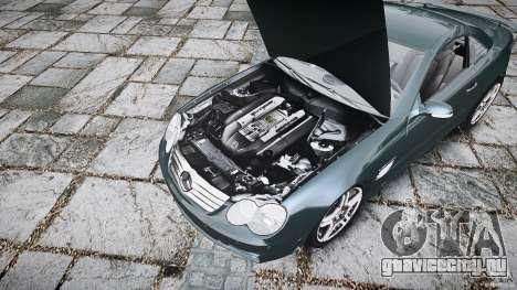 Mercedes Benz SL65 AMG V1.1 для GTA 4 вид сзади