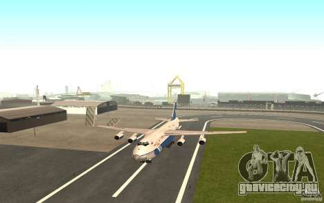 АН-124 Руслан для GTA San Andreas вид слева