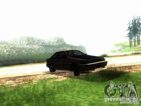 Toyota Corolla AE86 Levin для GTA San Andreas вид слева