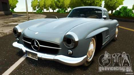 Mercedes-Benz 300 SL GullWing 1954 v2.0 для GTA 4