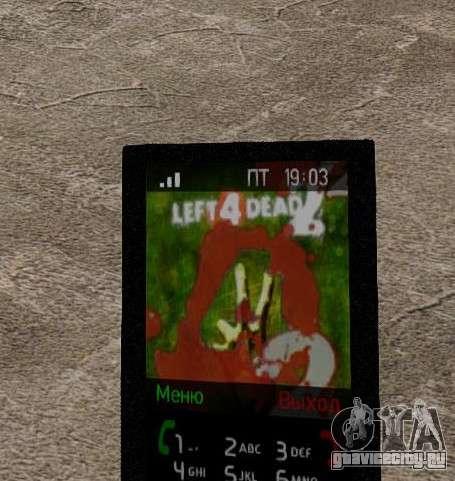 Новые темы для телефона для GTA 4 двенадцатый скриншот