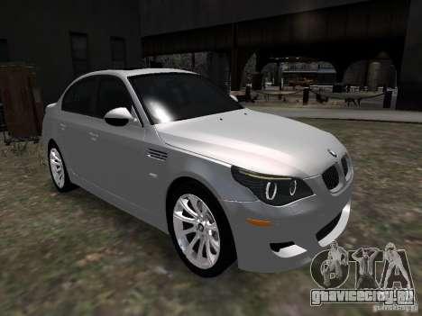 BMW M5 для GTA 4 вид справа