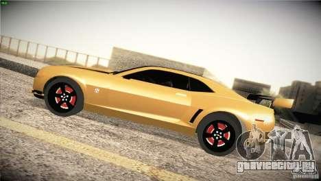 Chevrolet Camaro SS Transformers 3 для GTA San Andreas вид слева
