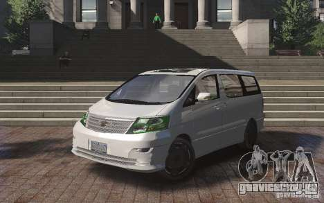 Toyota Alphard v2.0 для GTA 4