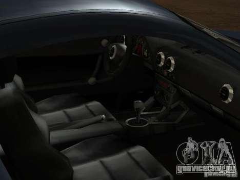 Audi TT 3.2 Quattro для GTA San Andreas вид снизу