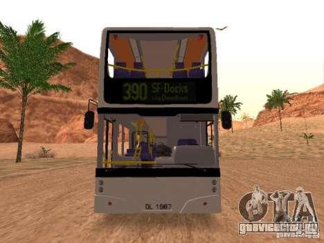 Volvo B7L для GTA San Andreas вид слева