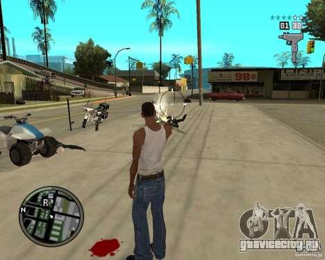 GTA IV HUD для GTA San Andreas четвёртый скриншот