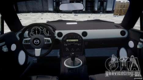 Mazda MX-5 для GTA 4 вид справа