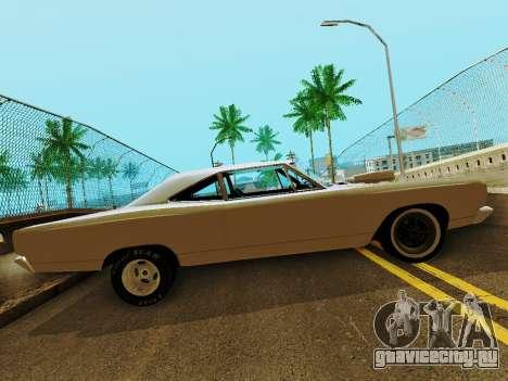 Plymouth GTX для GTA San Andreas вид слева