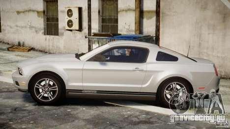 Ford Mustang V6 2010 Premium v1.0 для GTA 4 вид слева