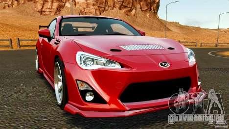 Subaru BRZ 2013 для GTA 4