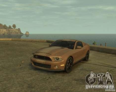 2011 Shelby GT500 Super Snake для GTA 4