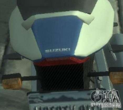 NRG900 to Suzuki GSX-R для GTA 4 вид справа