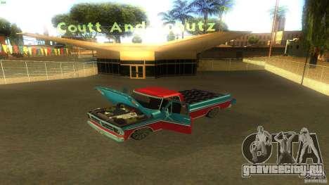 Ford F1000 Bicho для GTA San Andreas вид справа