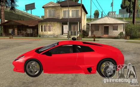 Lamborghin Murcielago LP640 v2 для GTA San Andreas вид слева