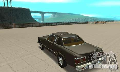 Chrysler Le Baron 1978 для GTA San Andreas