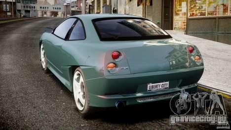 Fiat T20 Coupe для GTA 4 вид сзади слева