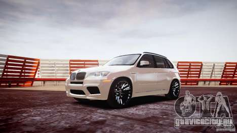 BMW X5M 2011 для GTA 4 вид слева