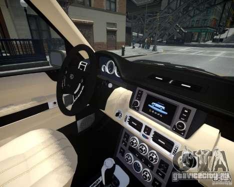 Land Rover SuperСharged для GTA 4 вид сбоку