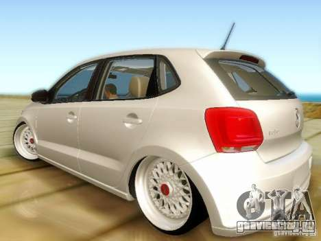 Volkswagen Polo 6R TSI Edit для GTA San Andreas вид слева