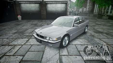 BMW 740i (E38) style 32 для GTA 4 вид изнутри