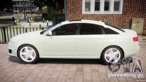 Audi RS6 2010 для GTA 4 вид слева