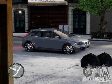 VOLVO C20 RSIGION для GTA 4 вид слева