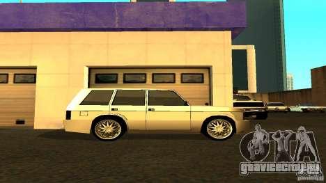 Huntley Sport для GTA San Andreas вид слева