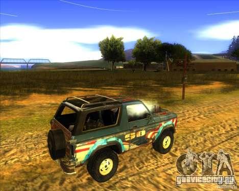 Blazer XL FlatOut2 для GTA San Andreas вид сзади