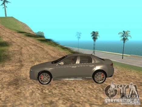 Alfa Romeo 159Ti для GTA San Andreas вид слева