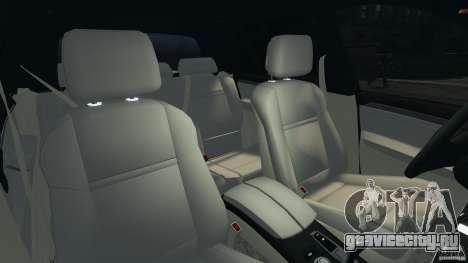 BMW X5 xDrive35d для GTA 4 вид изнутри
