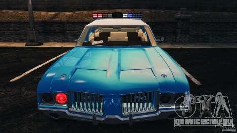 Oldsmobile Vista Cruiser 1972 Police v1.0 [ELS] для GTA 4 колёса