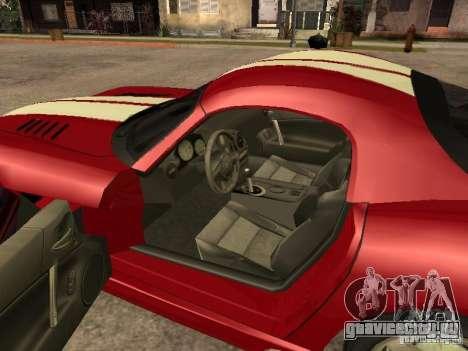 Dodge Viper для GTA San Andreas