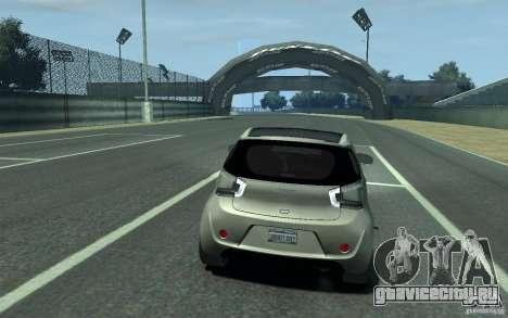 Aston Martin Cygnet 2011 для GTA 4 вид справа