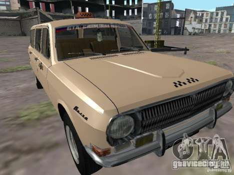 ГАЗ 24-02 Волга Такси для GTA San Andreas
