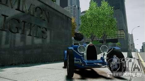 Bugatti Type 35C для GTA 4 вид справа
