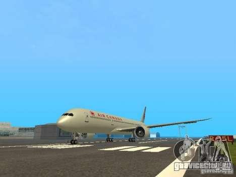 Boeing 787 Dreamliner Air Canada для GTA San Andreas