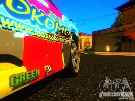 Nissan Skyline R34 Nismo для GTA San Andreas вид справа